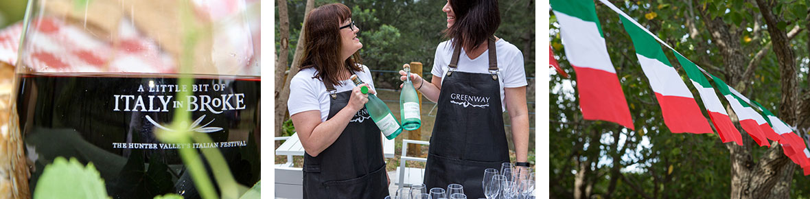 Greenway Wines, A Little Bit of Italy, Hunter Valley Italian Festival